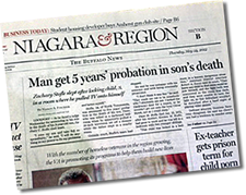 five Years probation in sons Death
